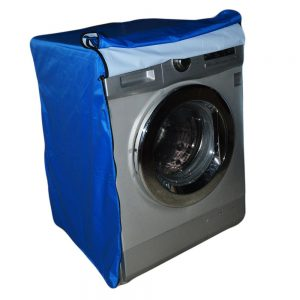 Washing Machine Cover Blue Waterproof 6 to 8 Kg