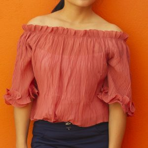 Off Shoulder Casual T-shirt for Women