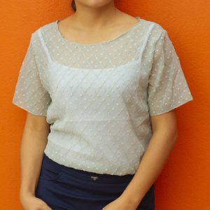 Net Casual T-shirt for Women
